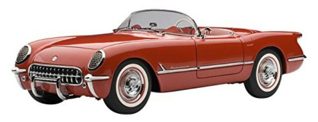 Autoart 71082 Mini Coche 1/18 Chevrolet Corvette '54 (Rojo) Acabado Artículo