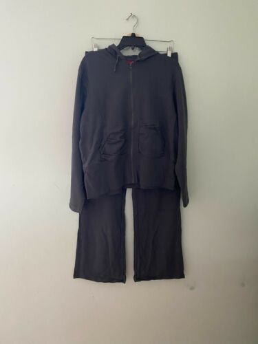 Miss Lili Women`s  Hoodie Zip Up TrackSuit Set Plus Size 2X