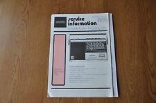 Grundig Prima Boy 700 Portable Radio Genuine Service Manual. Vintage Manual.