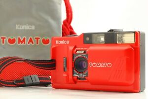 [EXC5 +Strap] Konica TOMATO Point & Shoot 35mm Film Camera From JAPAN