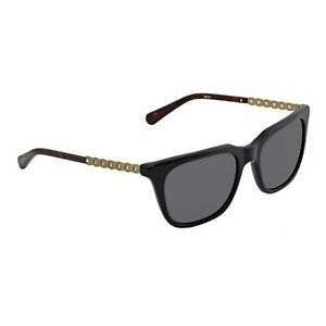 Coach-HC8236-56-500287-Square-Sunglasses-Black-Frame-Grey-Lens