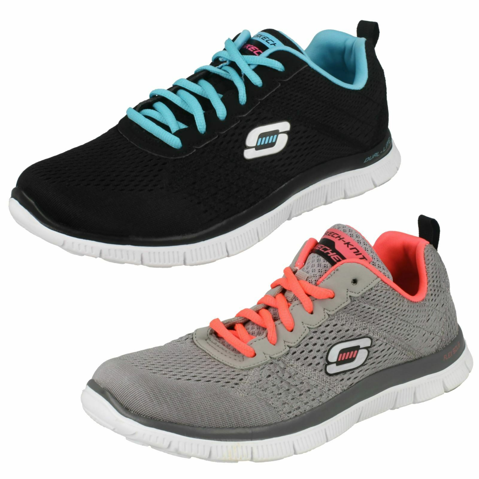 Skechers Ladies Flex Appeal Trainers Obvious Choice