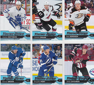 2016-17-UD-Series-1-Young-Guns-Rookie-Cards-U-Pick-FREE-COMBINED-SHIPPING