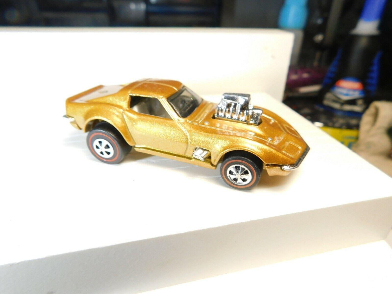 Gas Monkey Corvette heta hjul rödline Resto - Congrönion