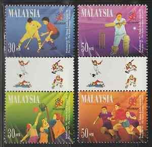 217-MALAYSIA-1997-PRE-ISSUE-COMMONWEALTH-GAMES-SET-FRESH-MNH