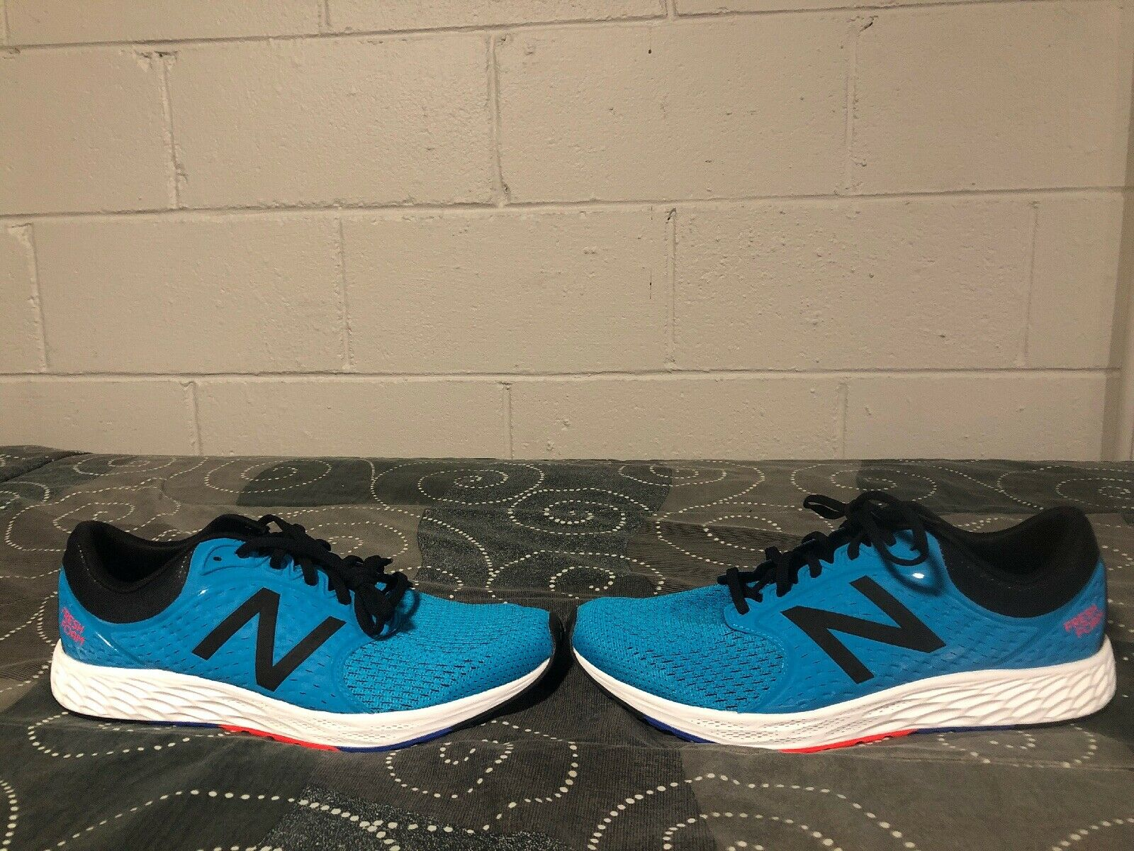 New Balance Fresh Foam Zante v4 Mens Running Training shoes Size 12 bluee Black