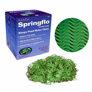 Savio springflo biofilter media sf01 for Biofilter for fish pond