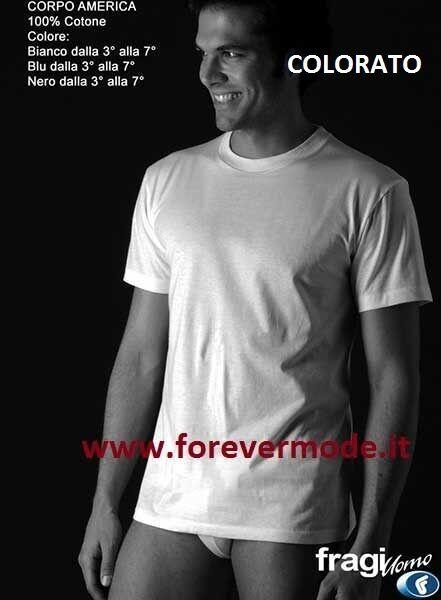 6 T-Shirt Herren Fragi kurze Ärmel Ärmel Ärmel aus Baumwolle mit Rundhalsausschnitt hoch art   | Deutschland Shops  | In hohem Grade geschätzt und weit vertrautes herein und heraus  | Sonderangebot  | Geeignet für Farbe  | Die Farbe ist sehr auffällig  d6afcb