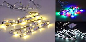 LED-Strip-100-cm-30-LED-3-Farben-waehlbar-Stripe-Leiste-Band-Streifen-1m-weiss
