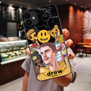 Drew-House-Justin-Bieber-Soft-Phone-Cases-iPhone-X-SE-6-6S-7-8-Plus-XR-XS-Max