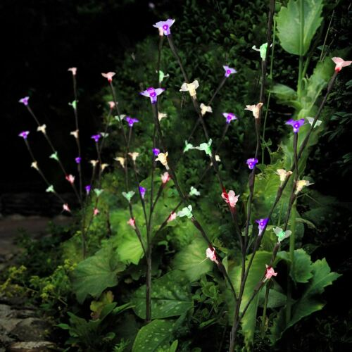 Multi Coloured Solar Garden Ornamental Stylish Blossom Branch Tree 60 LED Lights