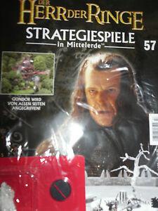 Der Herr der Ringe/Strategiespiele/DeAgostini/Ausgabe 57/GW/Denethor Figur