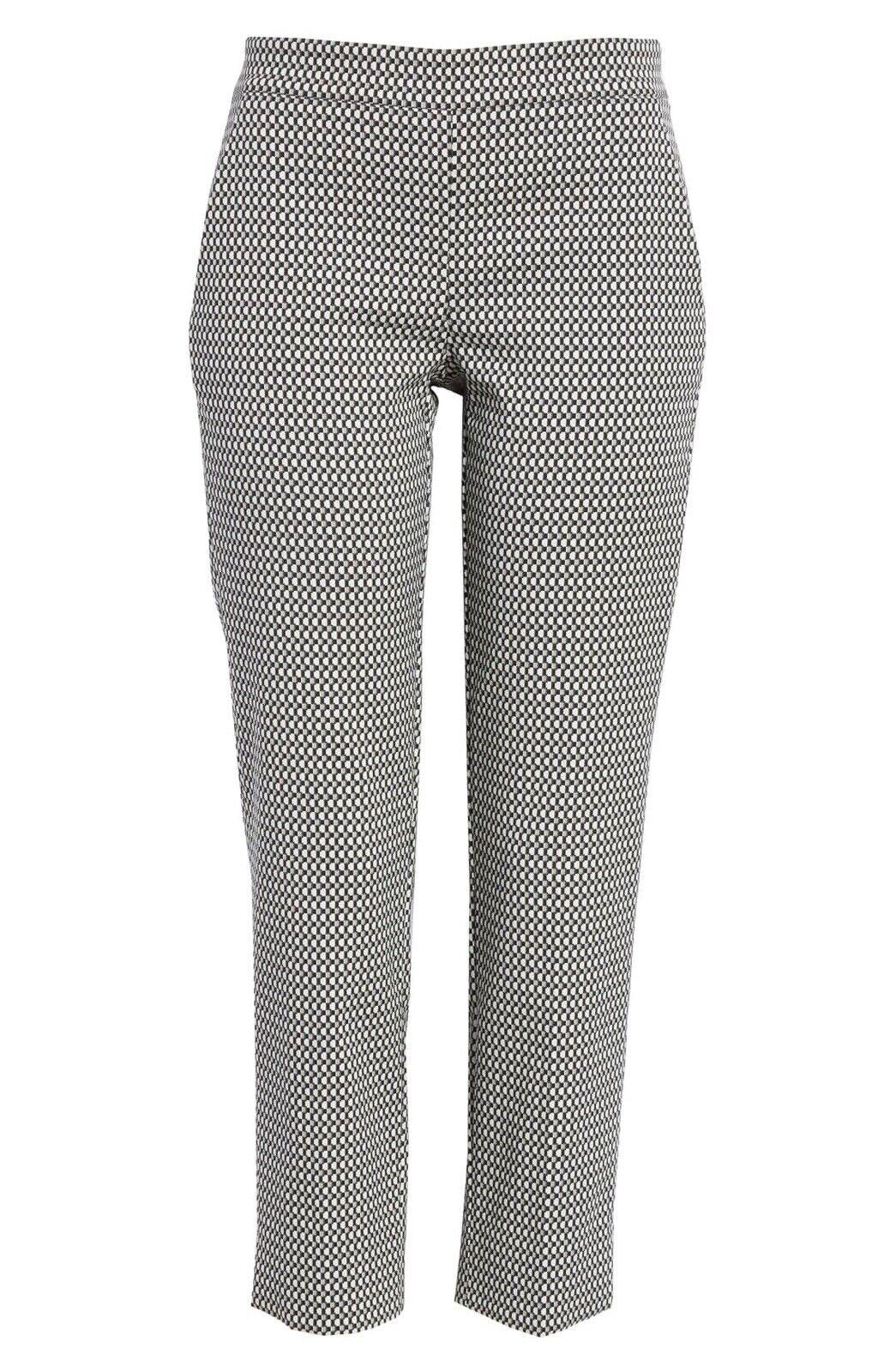New Max Mara Zaffiro Crop Pants Größe 10 US   44 IT MSRP  545