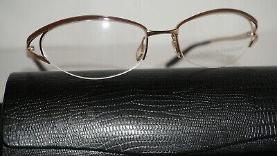 Barton Perreira Eliza Eyeglasses Frames 53-17-125 Antique Silver//Jet Women