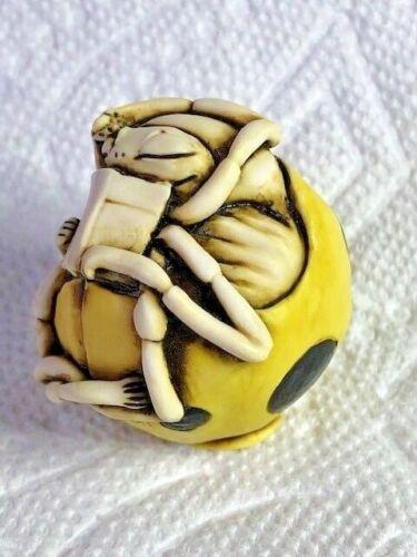Harmony Kingdom Artist Neil Eyre Designs spring Ladybug ladybird yellow black