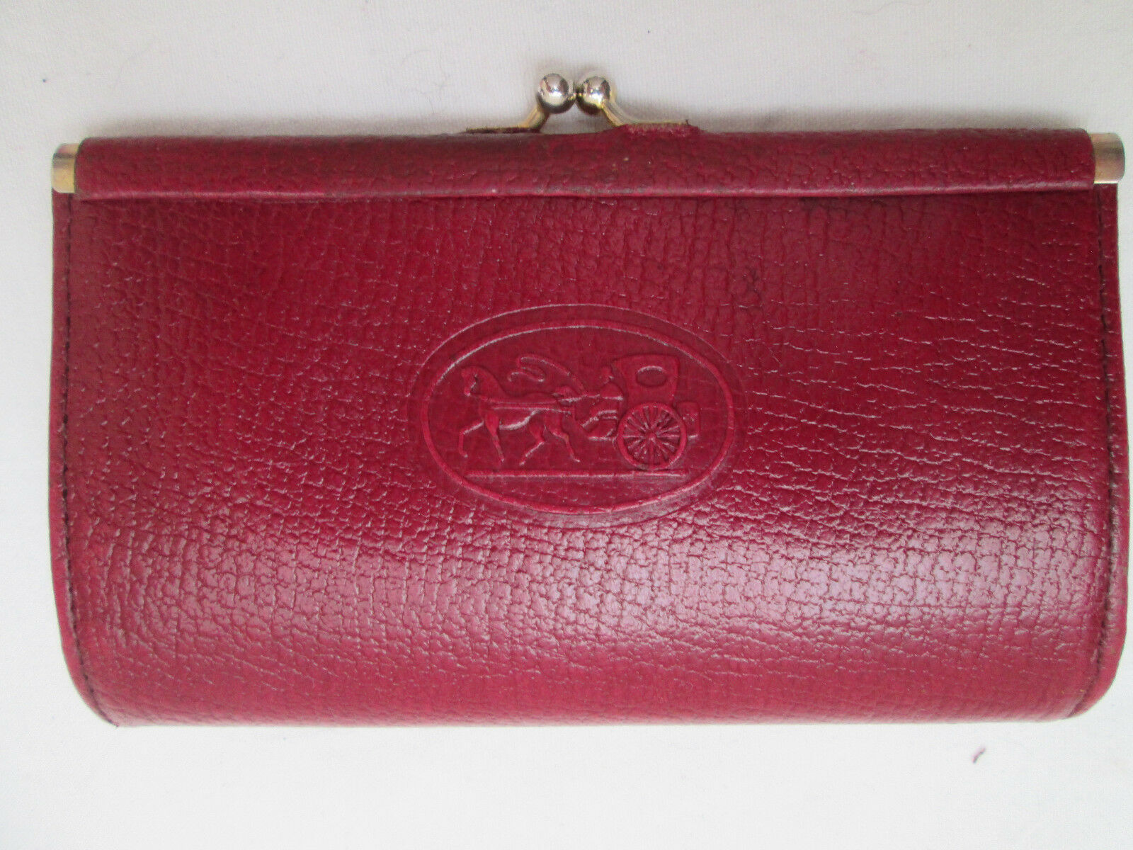- nice purses leather clipsé tbeg vintage
