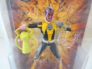 Échantillon de prototype Dc Univers Classics Wave 3 - Figurine Sinestro à bras gris et jaune