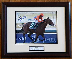 0e789155988 Details about Beholder 2013 Breeders  Cup 8x10 Framed Photo Signed Gary  Stevens New!
