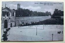 LUCCA - Mura della Città con la Porta S.Pietro (XVI e XVII secolo) [picc. b/n]