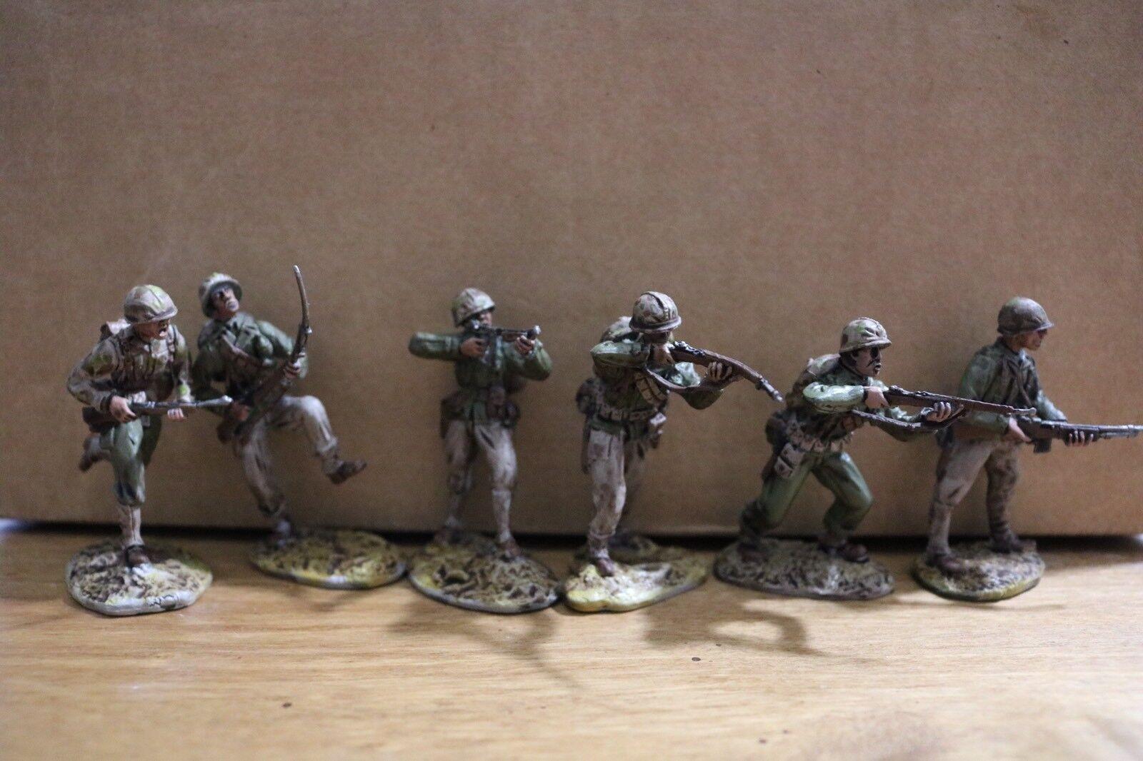 vendita outlet Well Painted plastic World War 2 cifras marines Squad Squad Squad  ordina ora i prezzi più bassi