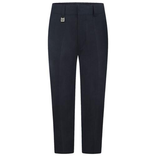 Zeco Sturdy Fit Trousers Boys School Uniform Tailored Schoolwear Pockets Pants