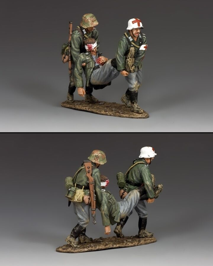 KING AND COUNTRY WWII German Battlefield Rescue WH035 WH35
