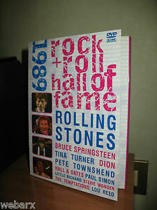 ROCK n ROLL HALL OF FAME 1989 DVD OTTIMO SPRINGSTEEN STONES TOWNSHEND - Italia - ROCK n ROLL HALL OF FAME 1989 DVD OTTIMO SPRINGSTEEN STONES TOWNSHEND - Italia