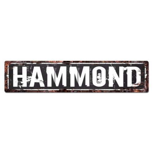 SLND0442 HAMMOND CAVE Street Chic Sign Home man cave Decor Gift