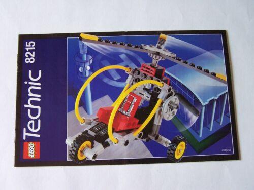 LEGO® Bauanleitung Instruction Nr 8215