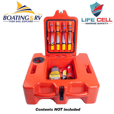 Life Cell Trawlerman Safety Gear Storage and Flotation Device - Free Postage