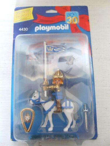 Playmobil chevalier doré 4430 NOUVEAU & NEUF dans sa boîte de 2003 Ritterburg Château Golden Edition