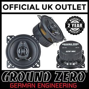Toyota-Supra-Mk4-Ground-Zero-200-Watts-4-034-2-Way-Coaxial-Front-Door-Car-Speakers