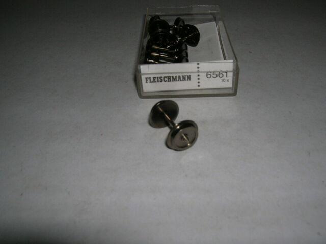 Fleischmann H0 6561 AC AC 1 Piece Wheel Set 0 7//16in New