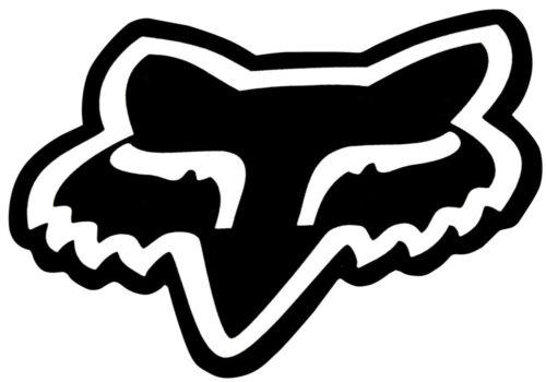 Fox Aufkleber FOXHEAD BIG HEAD Sticker 7 inch black 18cm