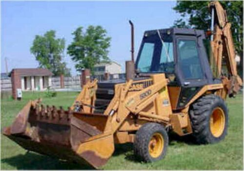 Case 580D Digger Backhoe Loader Workshop Manual