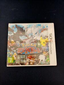 NINTENDO DS 3DS POKEMON RUMBLE GIOCO GAME (MIO) NUOVO CON CELLOPHANE