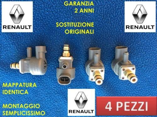 G002//4 INIETTORI GPL METANO RENAULT SCENIC TUTTE 4 PEZZI