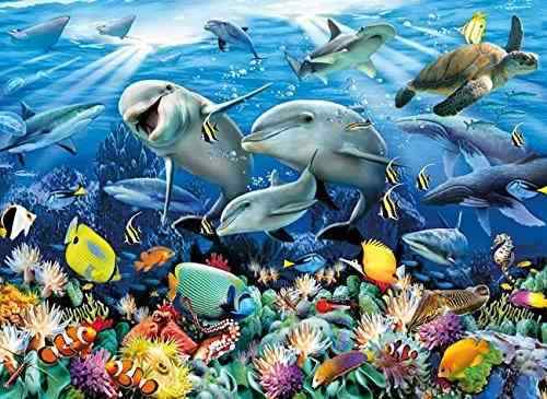 Clementoni 6000 Teile Puzzle Howard Robinson - Unter Wasser NEU+OVP