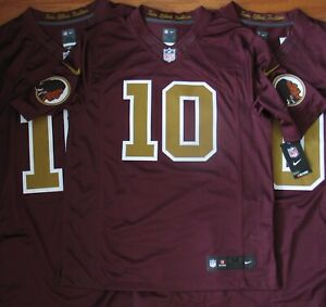 Details about Washington Redskins ROBERT GRIFFIN III LIMITED Throwback Jersey XL NWT
