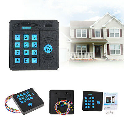 12V 26 LBs Security RFID Proximity Entry Door Access Control System Controller W