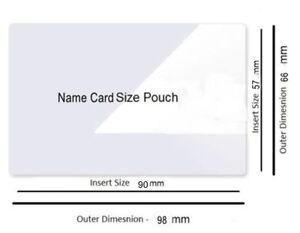 50 sheets cold seal self adhesive laminating pouch id name card 66 x image is loading 50 sheets cold seal self adhesive laminating pouch reheart Choice Image