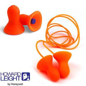 1 paire de howard leight by honeywell réutilisable protège-oreilles clarté 656 bouchons d/'oreille