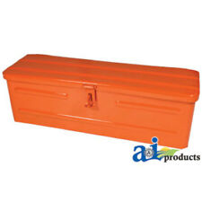 5A3OR Tool Box Orange Fits Allis-Chalmers All & Kubota All Tractors