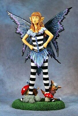 Amy Brown Faerytude Fairy Statue Figurine Faery Attitude Punk Signature Series