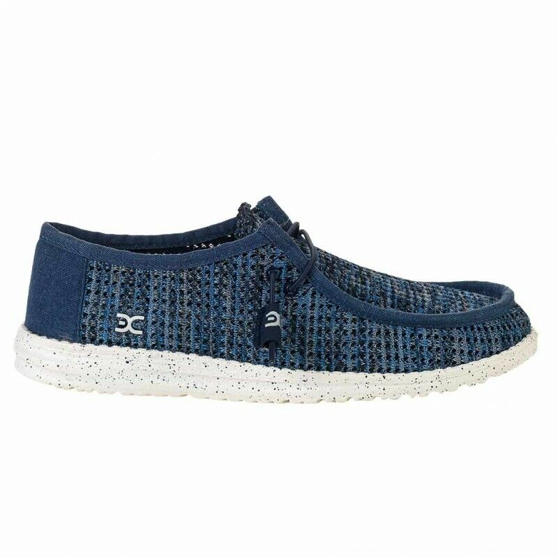 Hey Dude shoes Men's Wally Sox bluee bluee bluee Grey Trainers c10dfa
