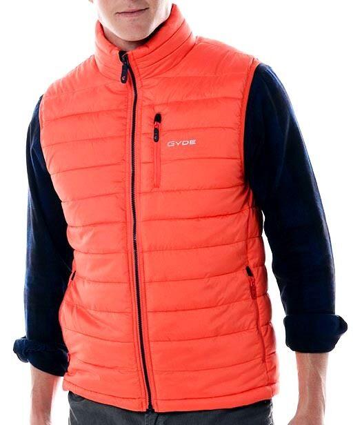 NEW 250  Herren Gyde Battery PoweROT By Gerbing Heated Calor Vest Blaze Orange