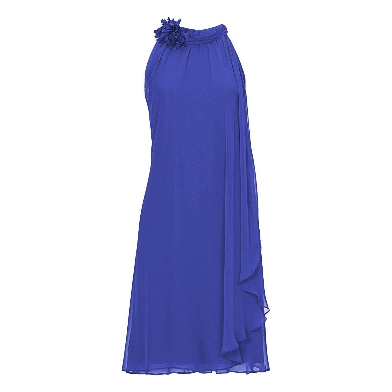 Vera Mont Abendkleid kurz ROYALBLAU 22153985 Cocktailkleid Hochzeit Festkleid