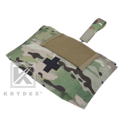 KRYDEX LBT-9022B-T First Aid Kit Pouch MOLLE Medical Tool Bag Storage Multicam