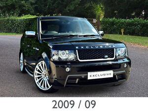 2009 09 Land Rover Range Rover Sport 2.7 TDV6 Stormer SE EXCLUSIVE ...