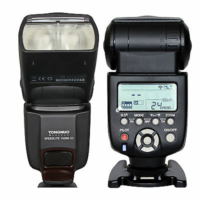 Yongnuo YN-560 III Wireless Flash Speedlite for Canon 5D 5DII 5DIII 7D II 1D 1Ds